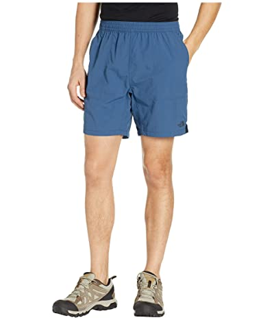 The North Face Pull-On Adventure 7 Shorts (Shady Blue) Men