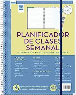 Finocam - Planificador de Clases Semanal Docente español
