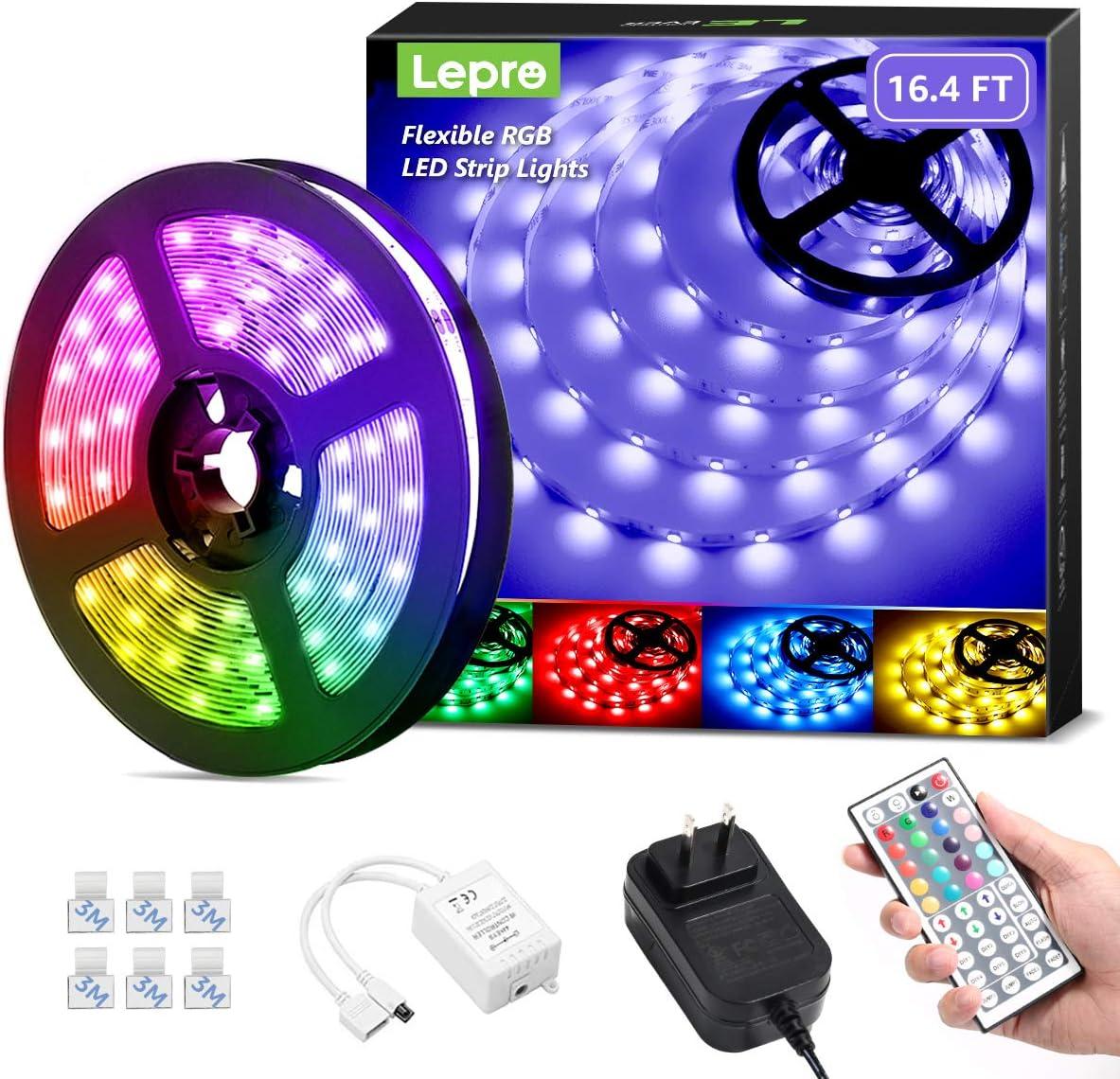 Lepro LED Strip Lights 16.4ft Brand Cheap Sale Venue 44 with Keys Los Angeles Mall RGB