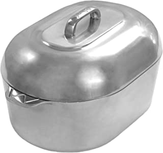 Cajun Cookware Roasters 15 Inch Aluminum Oval Roaster