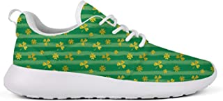 Eoyles gy Cannabis Plant Womens Slip Resistant Lightweight Running Shoes