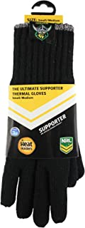 Heat Holders Warm Winter Thermal Gloves, Canberra Raiders