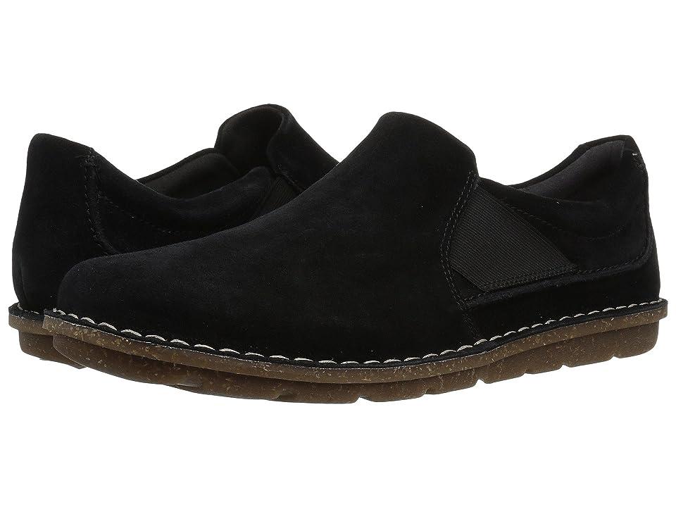 Clarks Tamitha Gwyn (Black Suede) Women's Shoes
