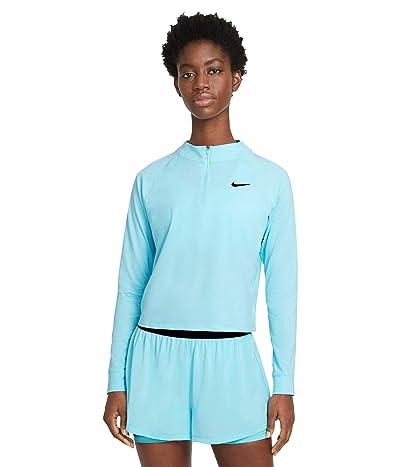 Nike NikeCourt Victory Dry Top Long Sleeve 1/2 Zip
