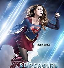 TianSW Supergirl Season 4 (14inch x 15inch/35cm x 37cm) Waterproof Poster No Fading