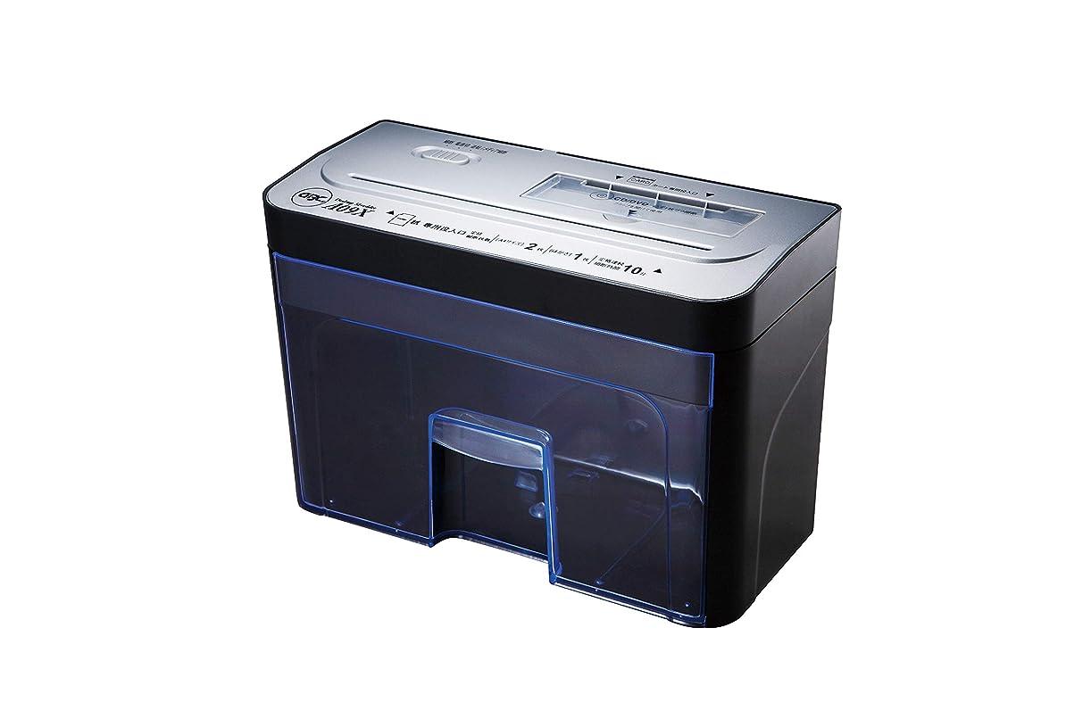 ノーブル問い合わせ巡礼者GBC シュレッダー デスクトップ クロスカット CD?カード細断 GSHA09X-2B