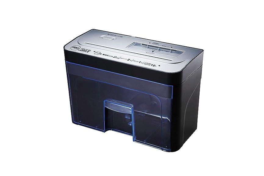 アクティブズーム押すGBC シュレッダー デスクトップ クロスカット CD?カード細断 GSHA09X-2B