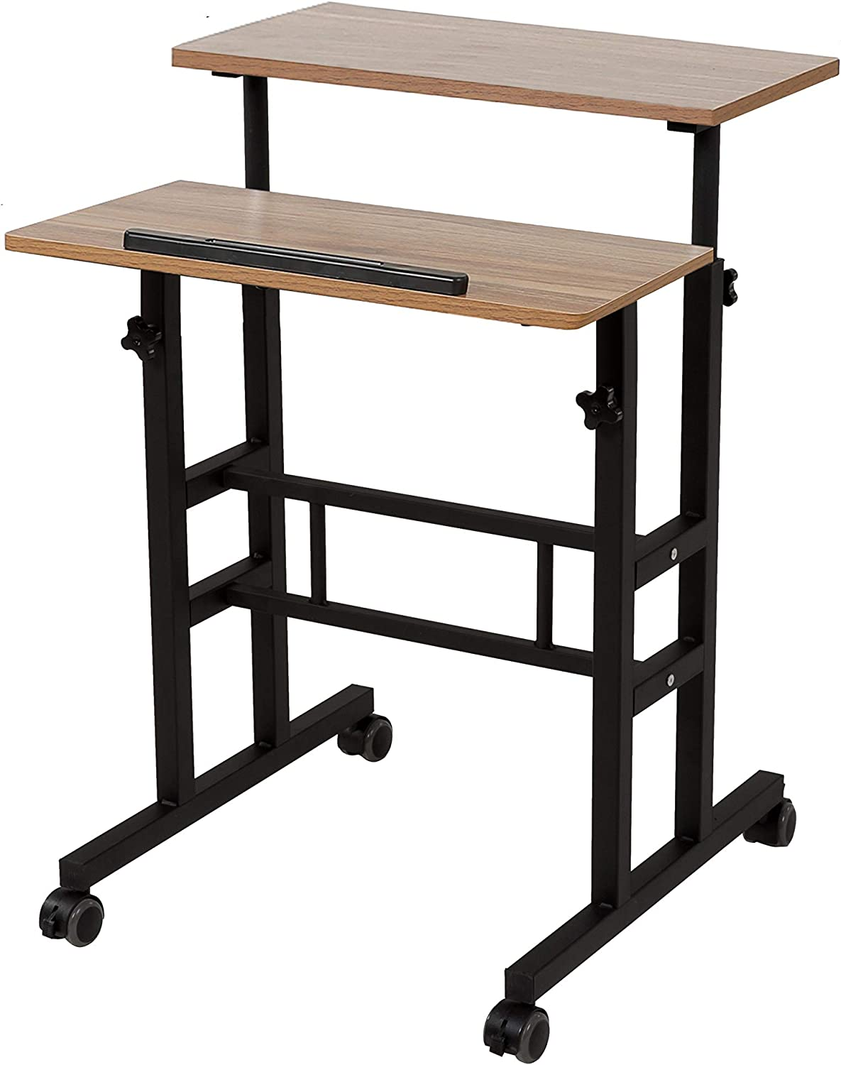 SDADI National uniform free shipping 2 Inches Carpet Wheels Max 59% OFF Stand Mobile Up Standing Desk