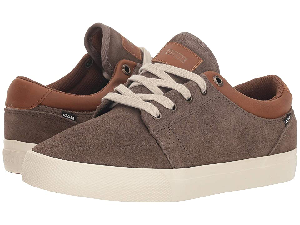 Globe GS (Little Kids/Big Kids) (Walnut/Off-White) Men