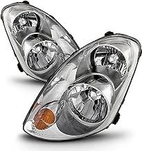 ACANII - For [HID Model] 2005-2006 G35 G35X Sedan Headlights Headlamps 05-06 Replacement Set Driver + Passenger Side