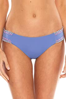 Women's Scallop Tab Side Hipster Bikini Bottom