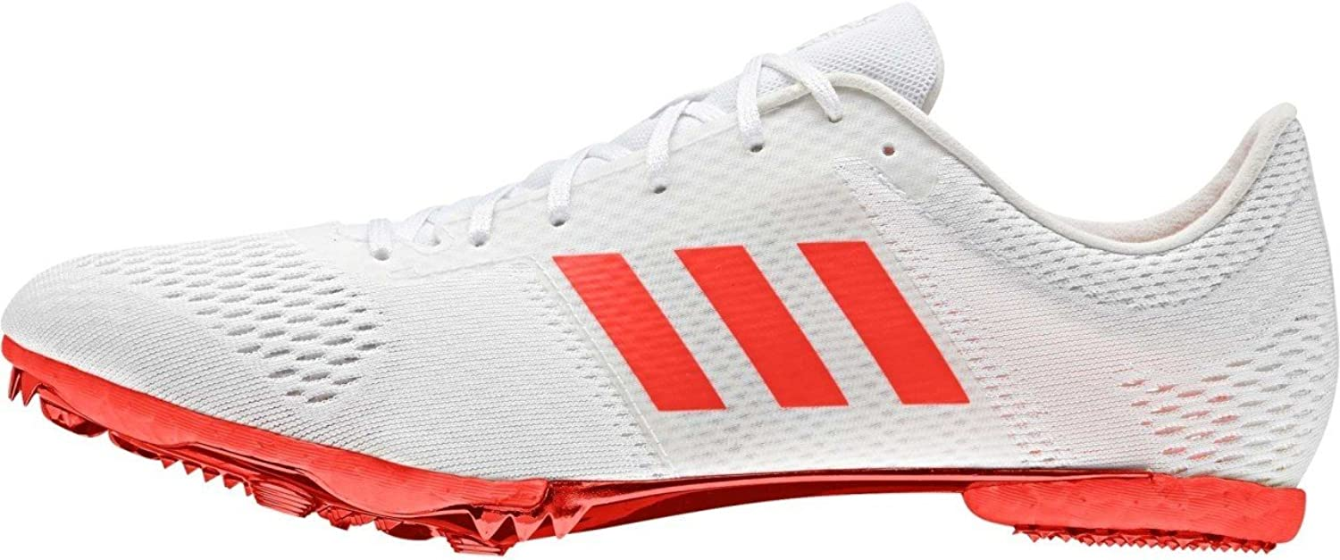 Adidas Adizero Middle Distance Spikes shoes Ftwr White Solar Red Silver Met.
