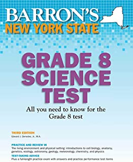 New York State Grade 8 Science Test