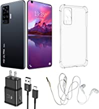 X60 Pro 7.1inch 3040x1440 MTK6799 10-Core Android Smartphones 2GB+32GB 5G Cellphones 5600mAh Large Capacity Mobile (Black)