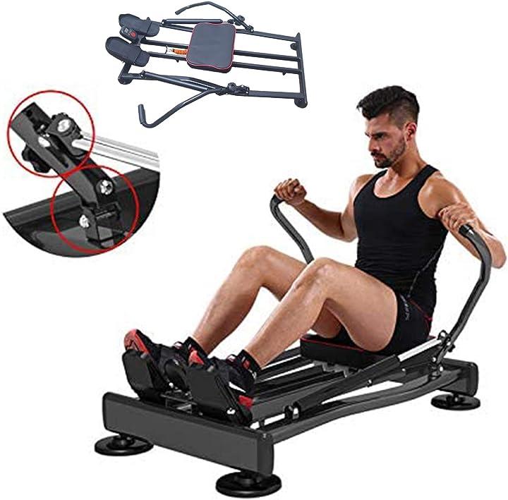 Vogatore professionale allenamento home gym casa resistenza idraulica ffitness flmd412n RM412