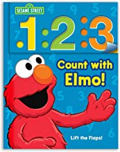 Sesame Street: 1 2 3 Count with Elmo!: A Look, Lift, & Learn Book (1) (Look, Lift & Learn Books)