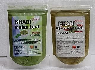 khadi black natural mehandi hair color