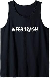 Weeb Trash Tank Top