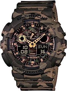 Casio G-Shock Analog-Digital Green Dial Men's Watch - GA-100CM-5ADR (G580)