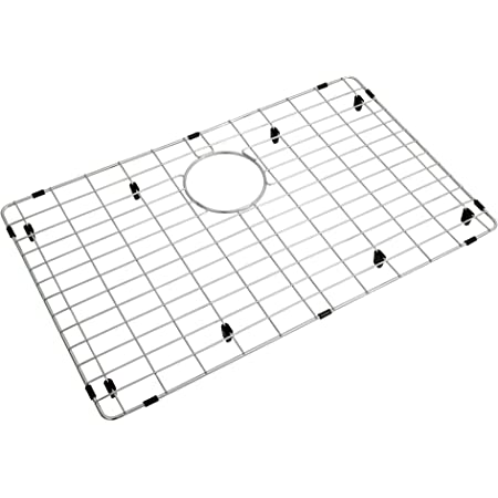 Stainless Steel Sink Grids for Bottom of Kitchen Sink 26 x 14 with Rear Drain for Single Sink Bowl Kitchen Sink Grid and Sink Protectors