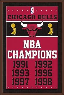 Trends International NBA Chicago Bulls - Champions Wall Poster, 22.375