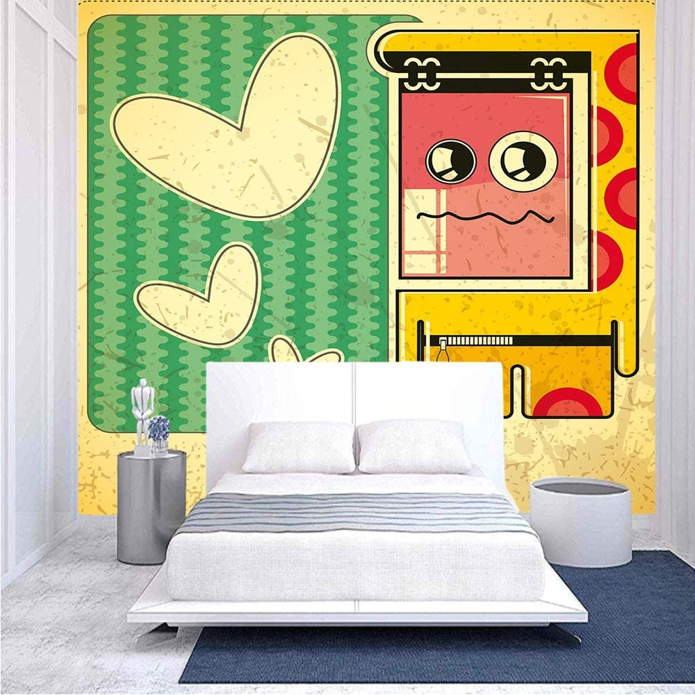96x69 inches Max 50% OFF Wall Free Shipping Cheap Bargain Gift Mural Vintage Sad Abstract Patte with Game Boy