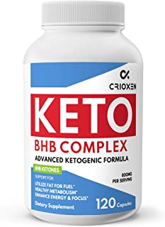Pure Keto Diet Pills 120 Capsules- Advanced Keto Supplement Pure BHB Exogenous Instant Ketones Salts to Kic...