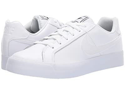 Nike Court Royale AC (White/White/Black) Women