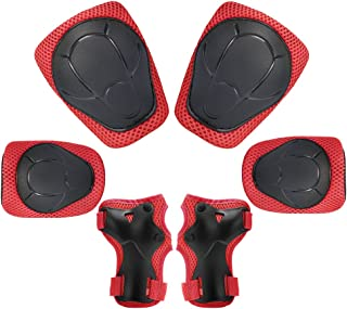 Flybar Knee Pads Scooter Elbow Pads and Wrist Guards Protective Safety Gear Set Teen /& Adult Sizes BMX Pogoing Inline Skating Multi Sport Protection for Skateboarding Kids