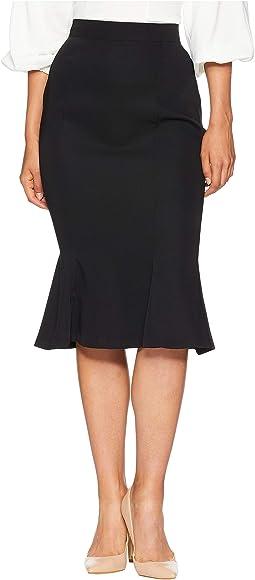 Micheline Pitt For Unique Vintage Flounce Skirt