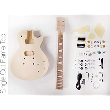 The FretWire DIY Electric Guitar Kit Singlecut Style Build Your Own Guitar Kit
