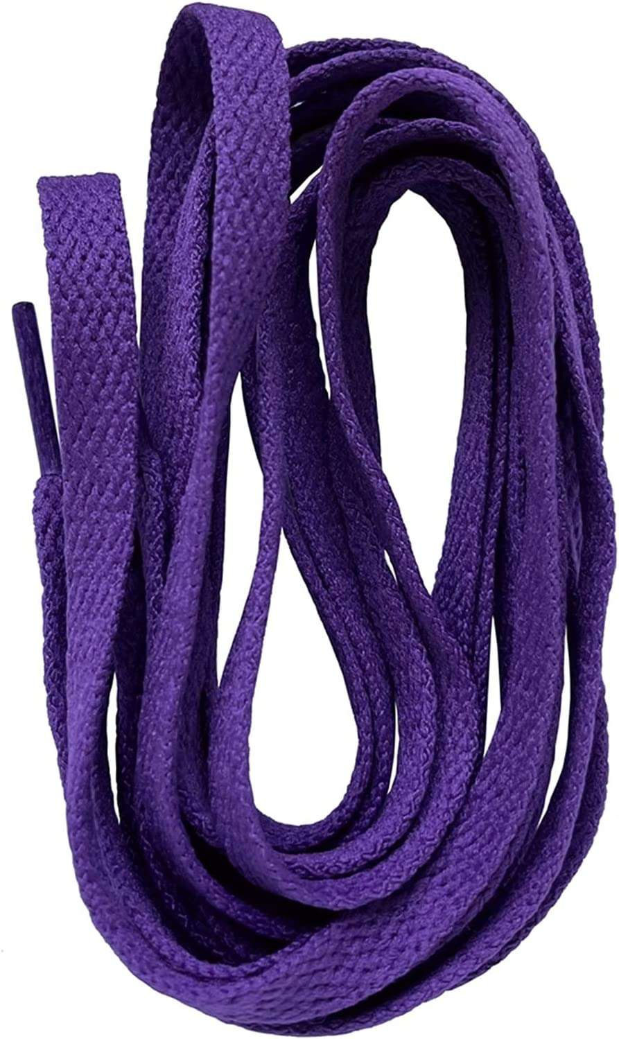 Product ZYQXB Flat Shoelaces Polyester Laces Sport Choice for 0. Shoes Sneakers