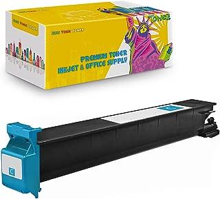 New York TonerTM New Compatible 1 Pack TN213C TN214C TN314C High Yield Toner for Konica-Minolta : BizHub C200 | C203 | C253 | C353. --Cyan