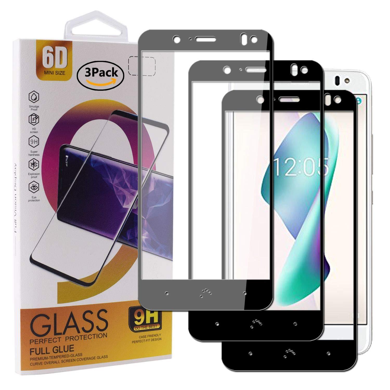 Guran [3 Paquete Protector de Pantalla para BQ Aquaris V Plus/VS Plus Smartphone Cobertura Completa Protección 9H Dureza Alta Definicion Vidrio Templado Película: Amazon.es: Electrónica