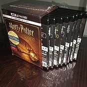 Harry Potter - 8 Film Collection 8 Blu-Ray 4K Ultra Hd+8 Blu ...