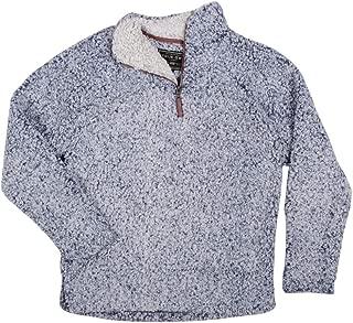True Grit Men's Frosty Tipped Pile 1/4 Zip Pullover