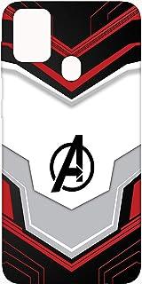 SharpEseller Avenger Logo Multi Coloured Silicone Back Cover for Samsung Galaxy M31