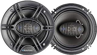 Blaupunk GTS655M 6.5 Inch 250W Slim Line, 4 Way Coaxial Car Audio Speaker, Set of 2 photo