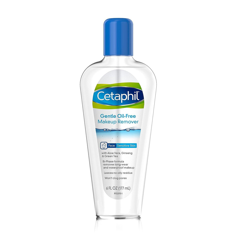 Cetaphil Gentle Waterproof Makeup Remover, 6.0 Fluid Ounce: Beauty