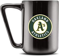 Duck House MLB OAKLAND ATHLETICS Ceramic Coffee Mug - Metallic Black, 16oz