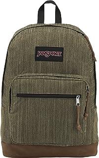 JanSport Derecho Pack Expresiones, Army Green Melange, Talla única