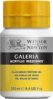 Winsor & Newton Galeria Acrylic Medium Glass Beads Texture Gel, 250ml