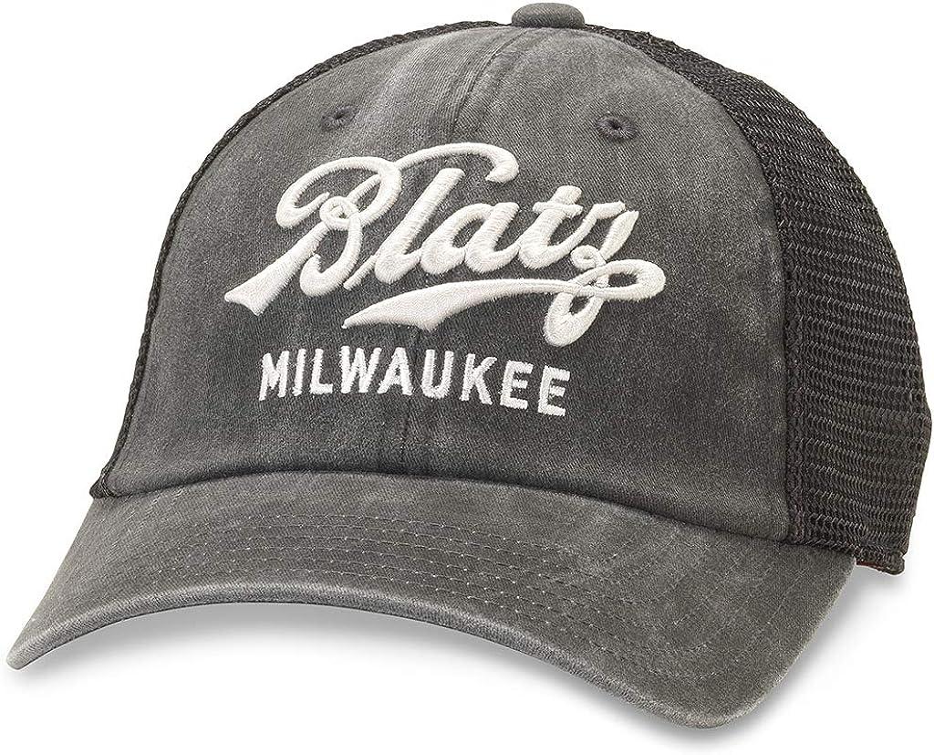 AMERICAN NEEDLE Blatz - Mens Raglan Bones Snapback Hat