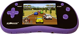 """I'm Game Handheld Game Player With 3"""" Color Display and 220 Games - Portable Gaming Console, Purple"""