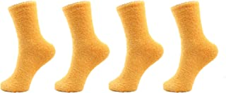 Women's Fuzzy Socks - Multiple Color Options