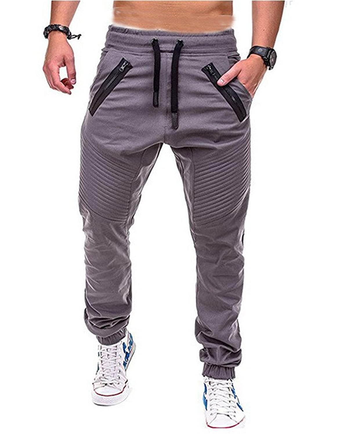 Men's Joggers Super Special SALE 2021 autumn and winter new held Athletic Pants Workout Tapered Running Sweatpants