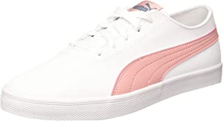 Puma Kids-Unisex Urban SL Jr White-Bridal Rose