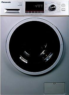 Panasonic 8 Kg 1400 RPM Front Load Washing Machine, Silver - NA148MB2, 1 Year Warranty