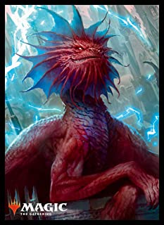 Magic The Gathering Guilds of Ravnica Niv-Mizzet Parun Card Game Character Sleeves MTGS-070 80CT