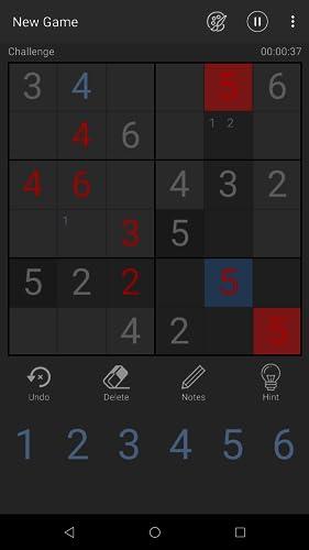 『毎日 数独 無料 パズル』の4枚目の画像